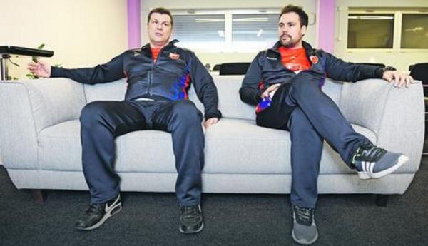 Aleksandar Filipović i Nemanja Stevanović