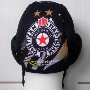 Crna vaterpolo kapica Partizan