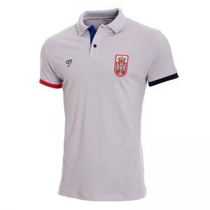 Siva polo majica reprezentacije Srbije