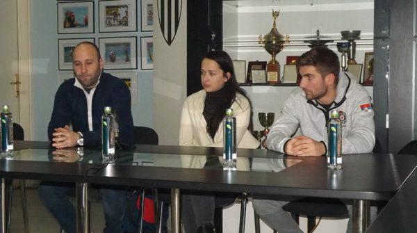 Konferencija pred meč Partizan - Barseloneta