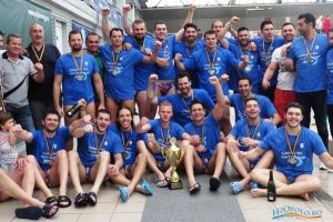 Vaterpolo klub Steaua, šampion Rumunije 2018.