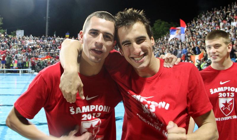 Strahinja i Viktor Rašović, Crvena zvezda 2013.