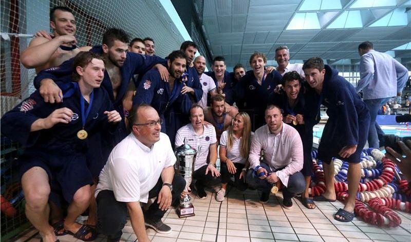 Vaterpolo klub Jug, šampion Hrvatske 2018.