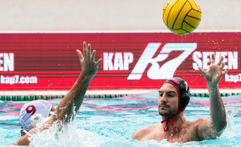 Marin Restović, Olimpijakos - Špandau 04