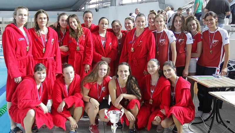 ŽVK Crvena zvezda, šampion Srbije 2018.
