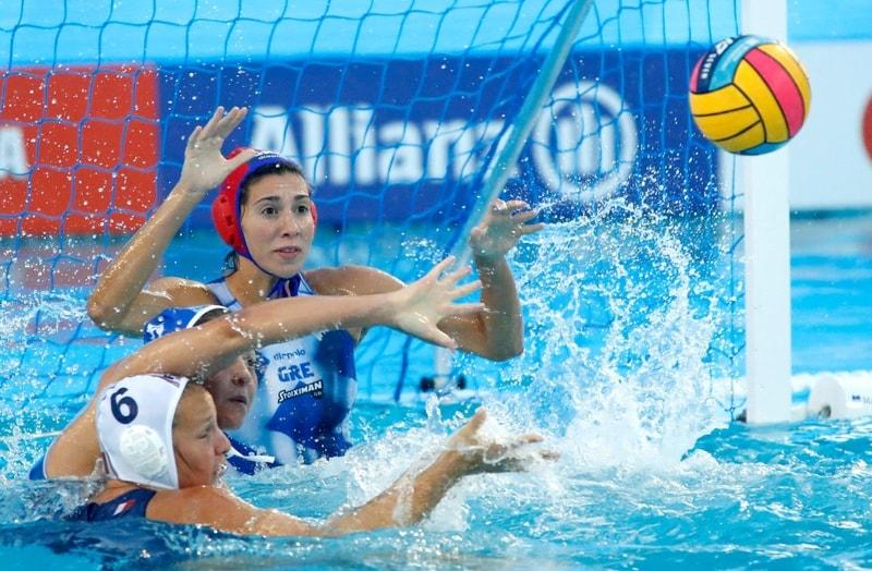 Vaterpolo Evropsko prvenstvo za žene, Grčka - Francuska