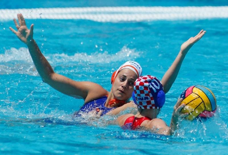 Vaterpolo Evropsko prvenstvo za žene, Holandija - Hrvatska