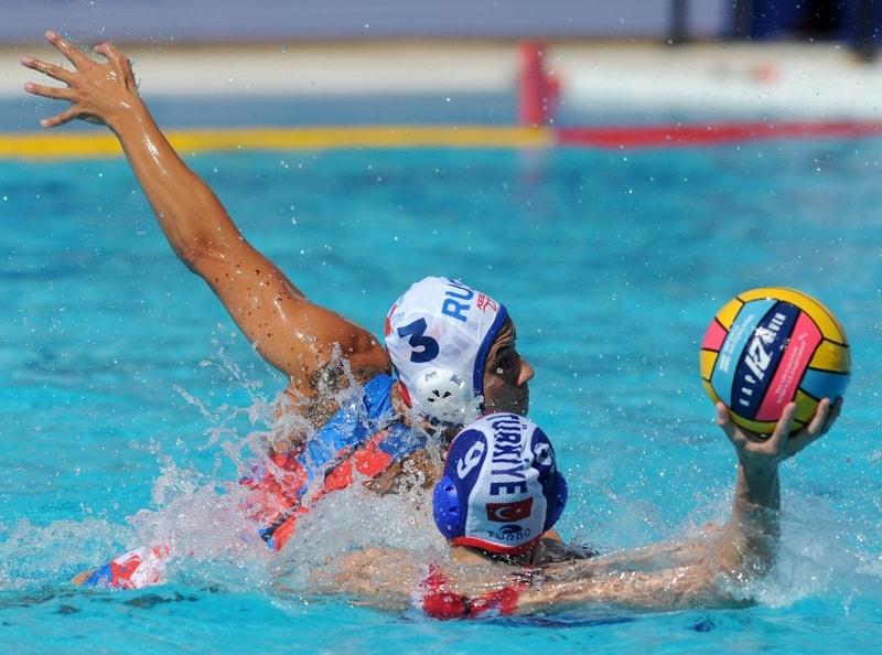 Vaterpolo Evropsko prvenstvo za žene, Rusija - Turska