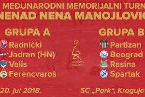 Turnir Nenad Nena Manojlović 2018
