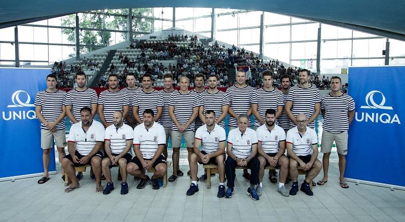Vaterpolo reprezentacija Srbije, Evropsko prvenstvo 2018.