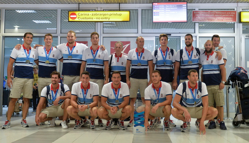 Šampioni Evrope stigli u Beograd