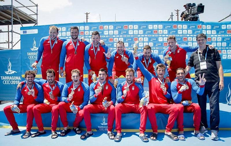 Srpski vaterpolisti osvojili Mediteranske igre 2018.