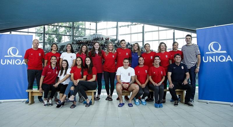 Ženska vaterpolo reprezentacija Srbije, Evropsko prvenstvo 2018.