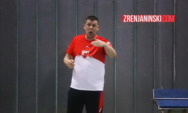 Aleksandar Filipović, trener VK Crvena zvezda
