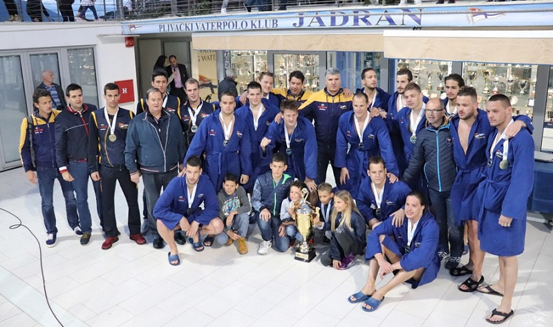 PVK Jadran Carine šampion Crne Gore 2019.