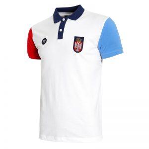 Bela polo majica reprezentacije Srbije 2019 (2)