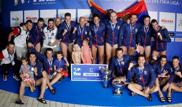 Srpski vaterpolisti osvojili zlato u Svetskoj ligi