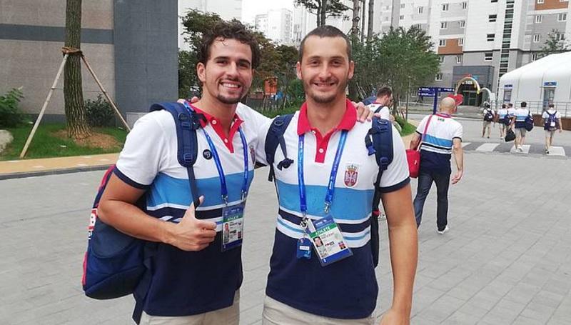 Viktor Rašović i Dimitrije Rističević