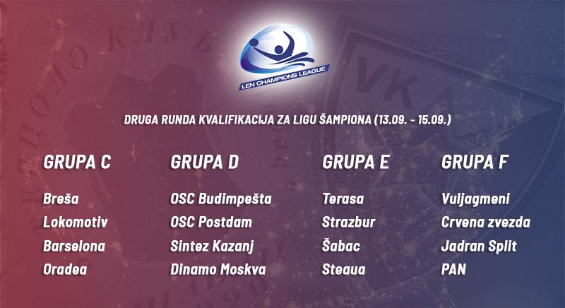 Kvalifikacione grupe za Ligu šampiona 2019/2020