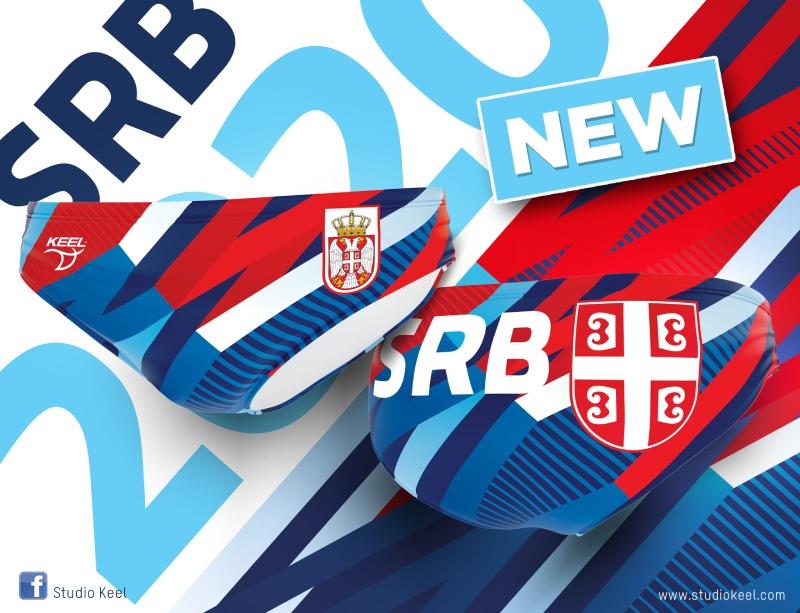 Baner Kupaće gaće vaterpolo reprezentacije Srbije 2020
