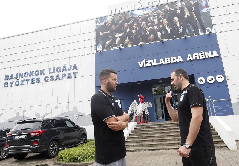 Filip Filipović i Živko Gocić u Solnoku