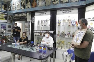 Konferencija Uprave VK Partizan