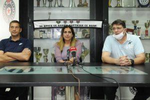 Konferencija, Igor Milanović, Partizan