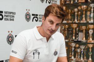 Milan Aleksic Partizan 2021