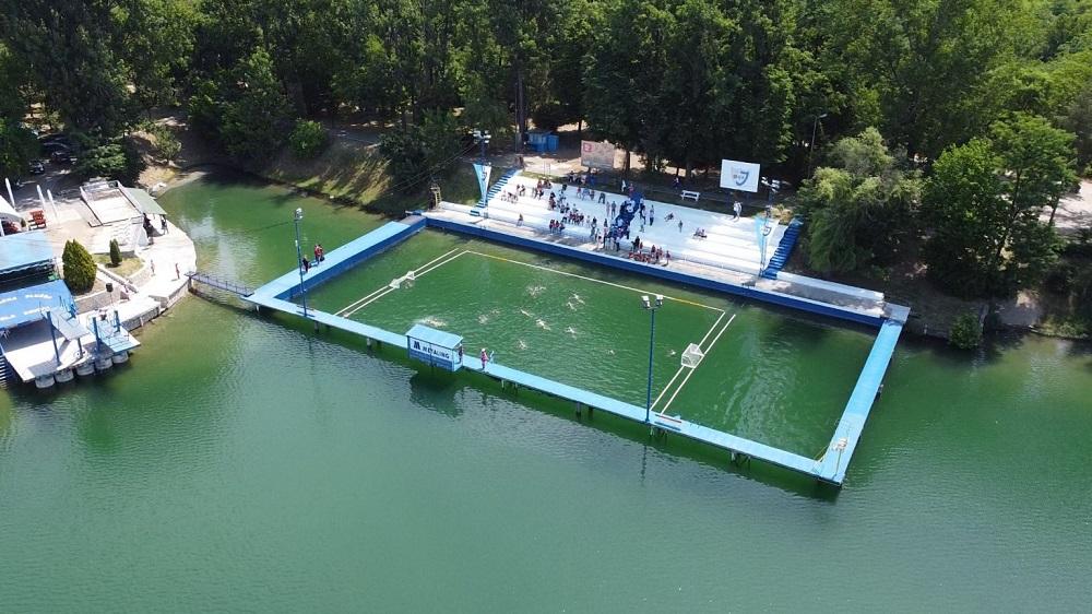 Plivalište VK Jezero, Bela Crkva