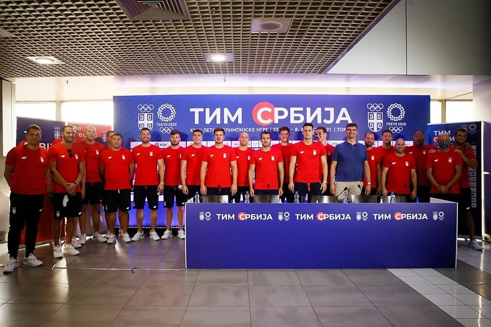 Vaterpolo reprezentacija Olimpijske igre 2021
