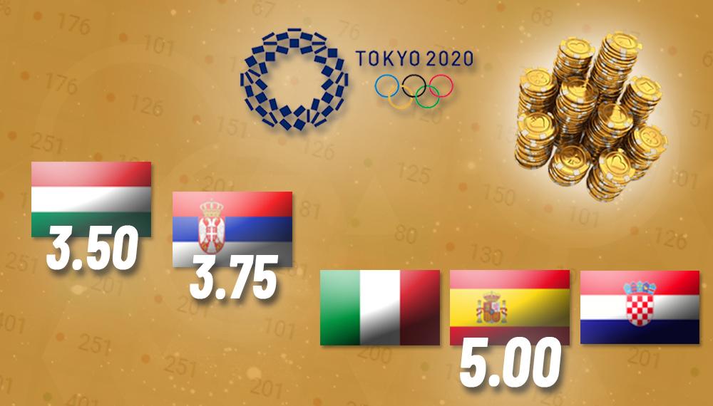 Kladionice - Favoriti na vaterpolo Olimpijskim igrama