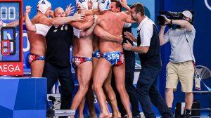 Srbija slavlje polufinale OI 2021