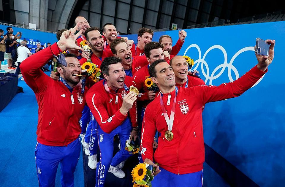 Srbija slavlje zlato OI Tokio 2021